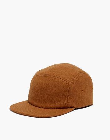 Wool Five-Panel Baseball Cap
