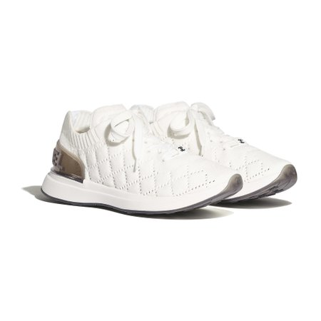 Mixed Fibers White Sneakers   CHANEL