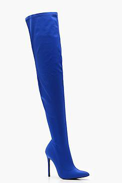 Caitlin Stretch Thigh High Boots