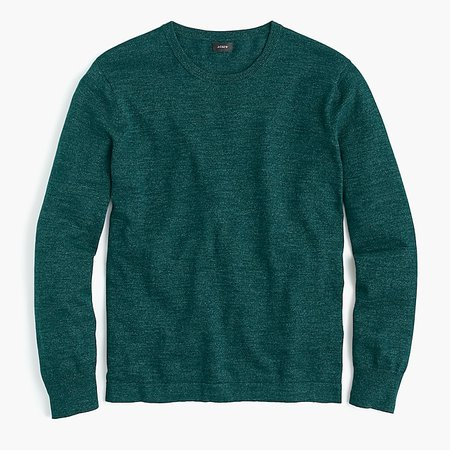 J.Crew: Cotton Crewneck Sweater