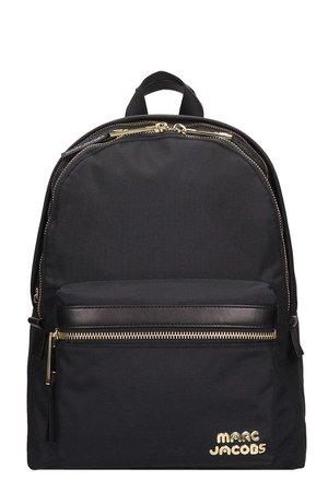 Marc Jacobs Black Nylon Large Backpack