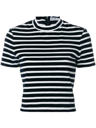 T By Alexander Wang horizontal stripe T-shirt