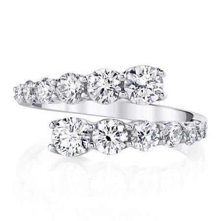 TWIST DIAMOND RING - Anita Ko