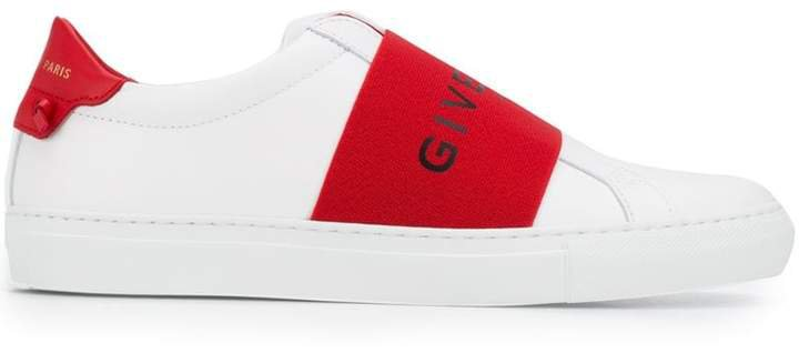 elastic skate sneakers