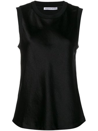 T By Alexander Wang black tank top $250 - Buy SS19 Online - Fast Global Delivery, Price