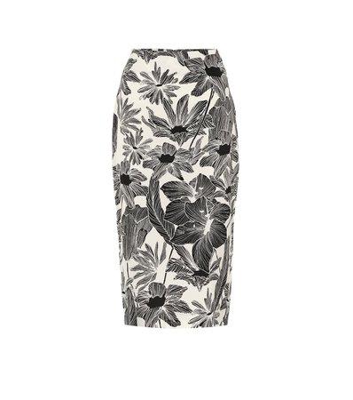 Diane von Furstenberg - Kara high-rise cady pencil skirt | Mytheresa