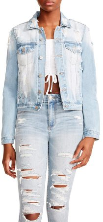 Everyday Denim Jacket Light Blue