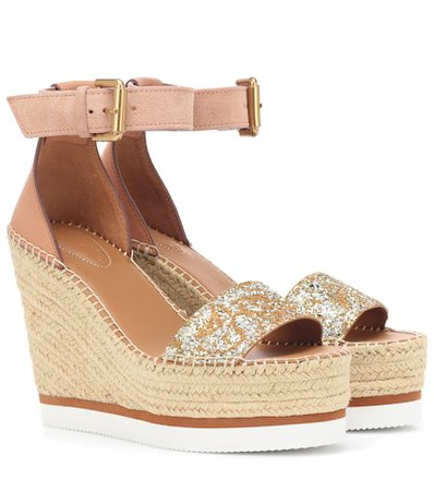 Glyn Wedge Espadrille sandals