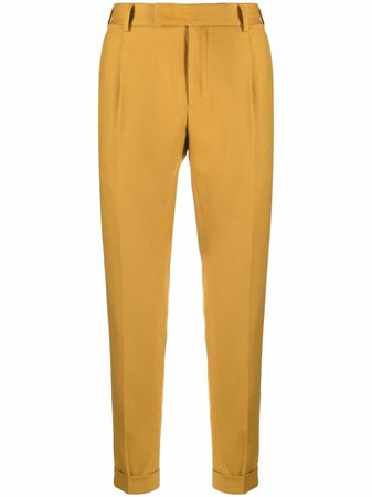 Pt01 cropped tailored trousers - FARFETCH