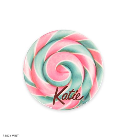 BADGE lollipop candy 75 round Katie Official Web Store