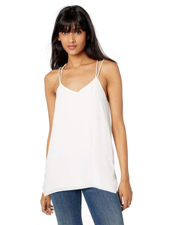 Women's Sleeveless Double-Strap Cami
