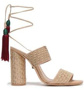 Gaby Tasseled Woven Sandals