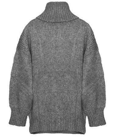 TAILOR MADE Grey Knitted Turtleneck Sweater < ΝΕΑ ΠΡΟΙΟΝΤΑ | aesthet.com