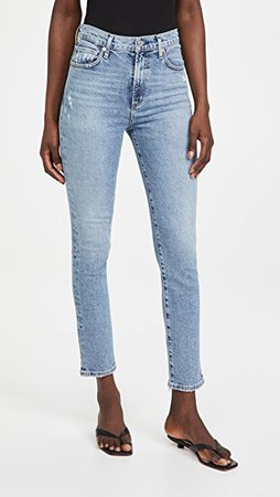 Citizens of Humanity Olivia High Rise Slim Ankle Jeans | SHOPBOP