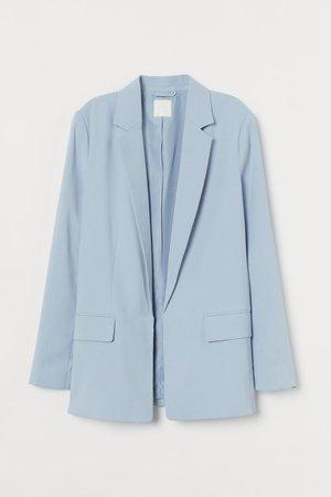 Long Jacket - Light blue - Ladies | H&M US