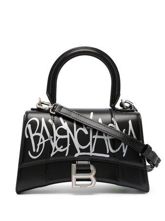 Balenciaga XS Hourglass Tote Bag - Farfetch