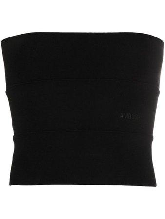 Ambush Strapless Bandeau Top 12112030 Black | Farfetch