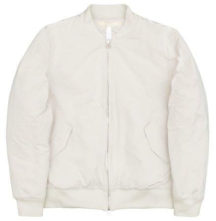 Bomber Jacket Off-White · Bomber Jacket Off-White