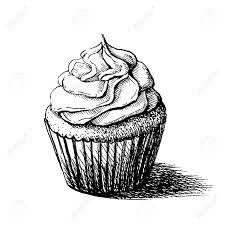 cupcake sketch - Google Search