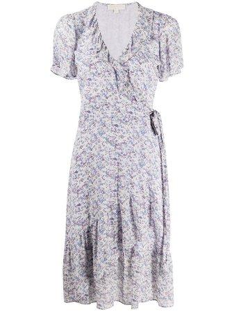 Michael Michael Kors floral-print Wrap Dress - Farfetch