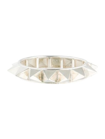 Tom Binns Clash Chic Studded Bangle - Bracelets - W4T20447 | The RealReal