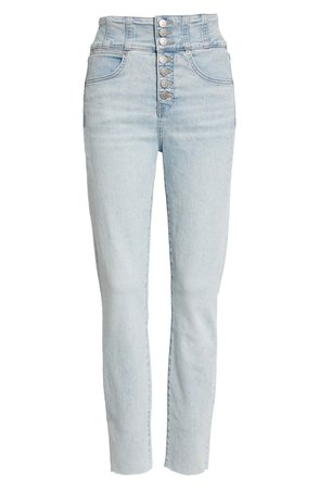 Katherine High Waist Crop Skinny Jeans | Nordstrom