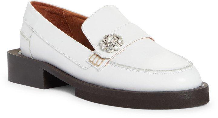 Jewel Moc Toe Loafer
