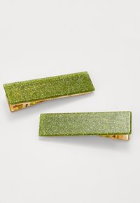 Valet Studio CLEMENTINE CLIPS 2 PACK - Hair styling accessory - green - Zalando.de
