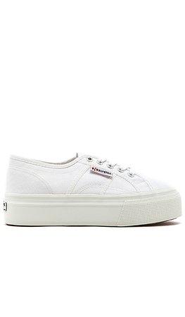 Superga 2790 Platform Sneaker in White | REVOLVE