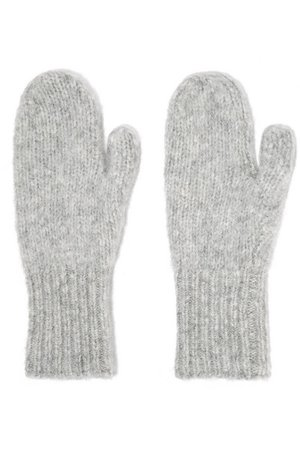 Acne Studios Adini alpaca-blend mittens