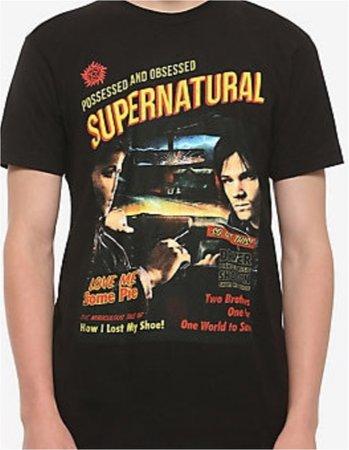 supernatural shirt  from hot topic