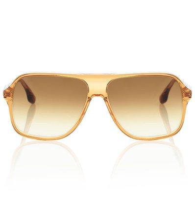 Aviator Acetate Sunglasses | Victoria Beckham - Mytheresa