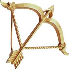Bow and Arrow Pin