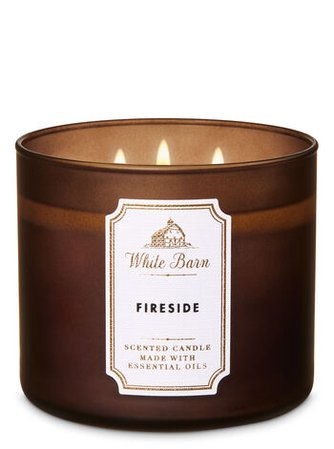 Fireside 3-Wick Candle | Bath & Body Works