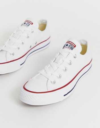 Converse Chuck Taylor All Star Ox sneakers in white | ASOS