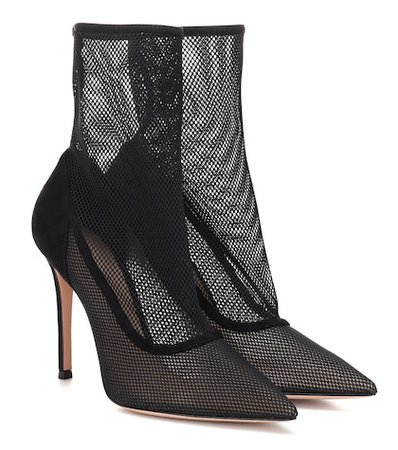 Erin mesh ankle boots