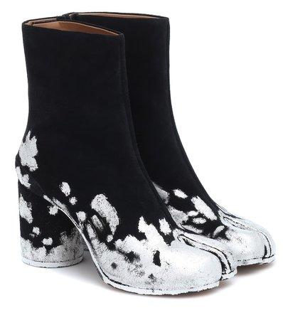 Maison Margiela - Tabi suede ankle boots | Mytheresa