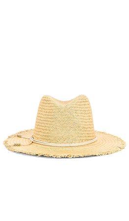 Hat Attack Fringe Travel Hat in Toast & Blush | REVOLVE