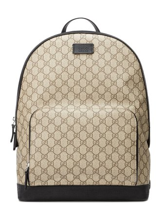 Shop Gucci GG Supreme backpack with Express Delivery - Farfetch