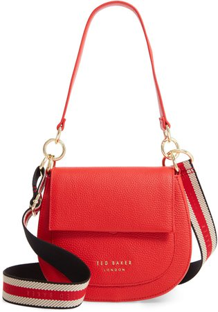 Amali Leather Crossbody Bag