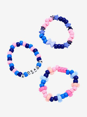 Dead Candy Bead Bracelet Set
