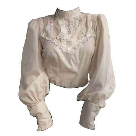 white png blouse shirt