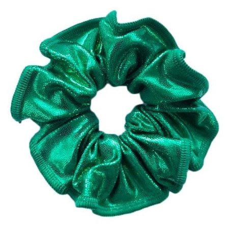 SCRUNCHIE, GREEN - Made in the UK - All About Gymnastics