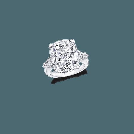 Cushion Cut Diamond Ring | Graff