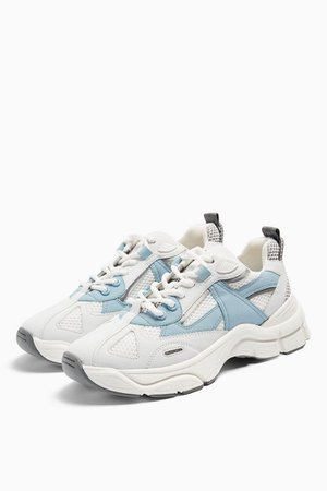 CAMBER Blue Chunky Sneakers | Topshop