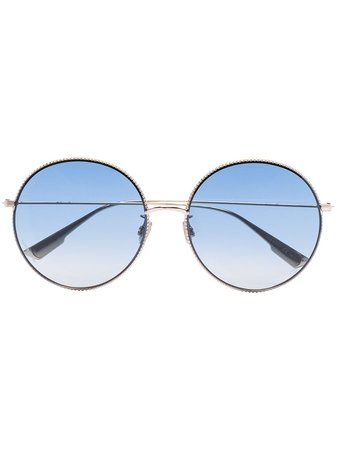 Dior Eyewear Society Round Sunglasses - Farfetch