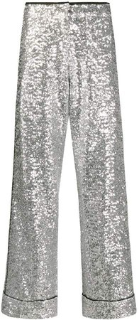 sequined trousers