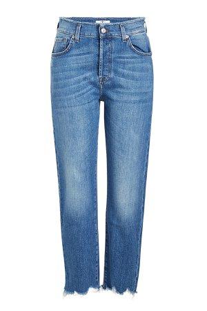High-Waisted Josefina Cropped Jeans Gr. 26
