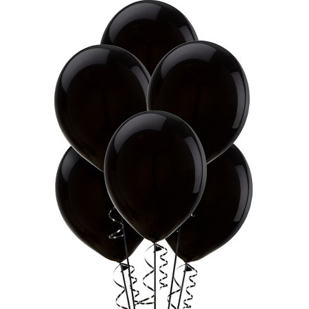 Black Latex Balloons 12in 15ct | Party City Canada