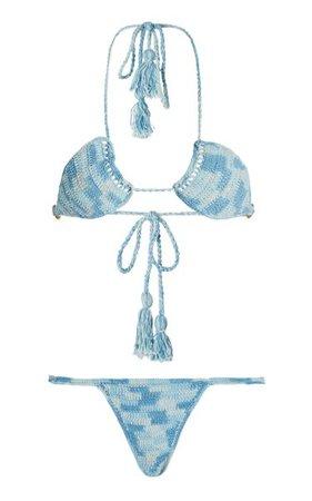 Ulu Crocheted Cotton Bikini By Akoia Swim | Moda Operandi